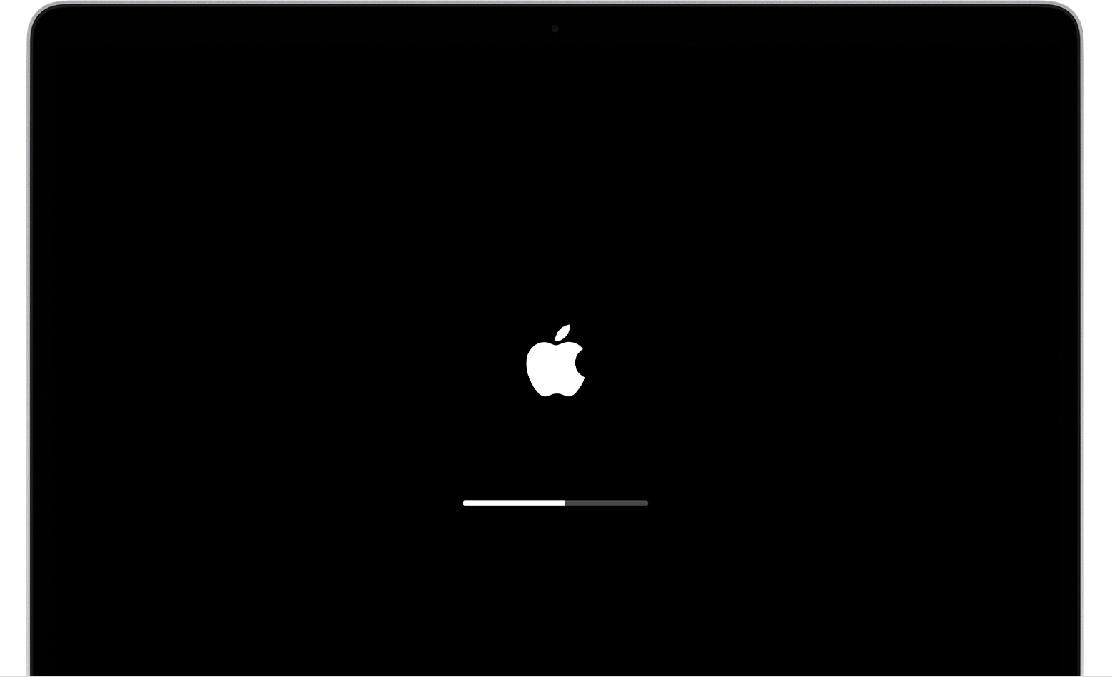 If your Mac starts up to an Apple logo or progress bar.
