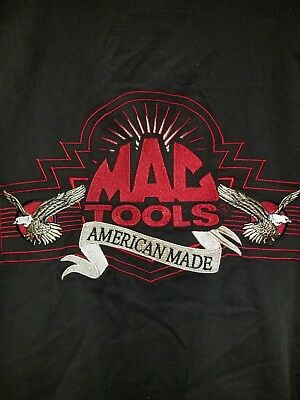 VINTAGE MAC TOOLS Swingster Jacket Back Logo American Made.