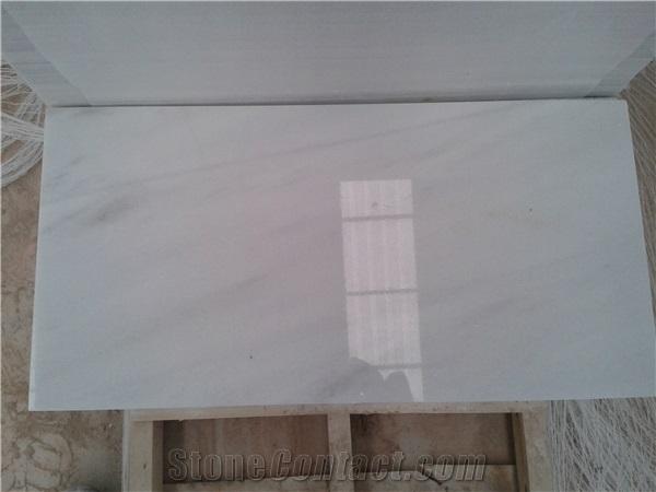 Blanco Macael Marble Slabs Tiles, White Polished Marble Floor.