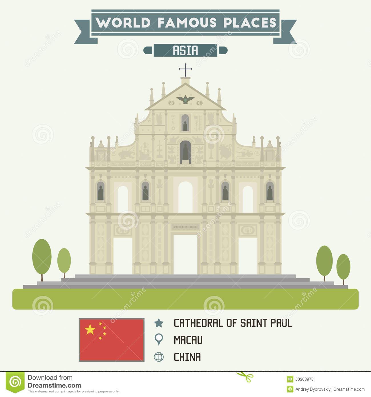 Macau Stock Illustrations.