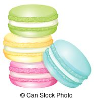 Macaron Clip Art and Stock Illustrations. 766 Macaron EPS.