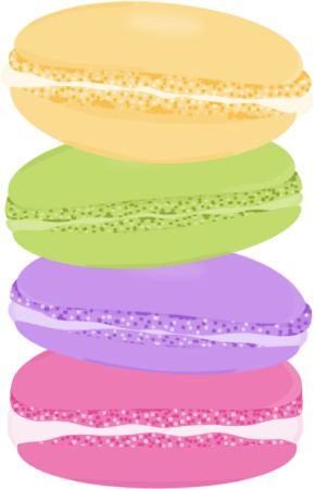 Stack of Macarons.
