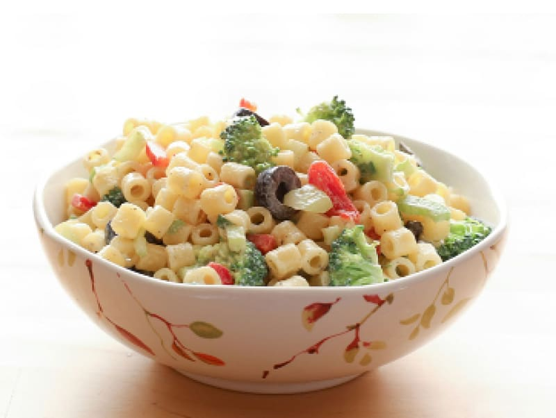Pasta salad Macaroni salad Cream Stuffing, salad transparent.