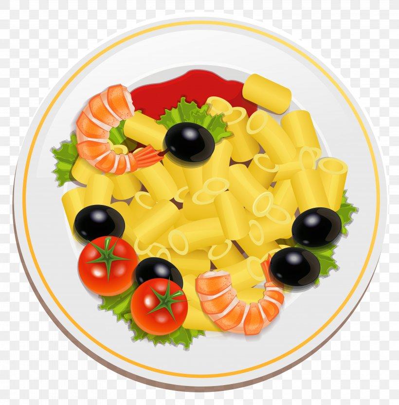 Pasta Salad Italian Cuisine Macaroni Salad Clip Art, PNG.
