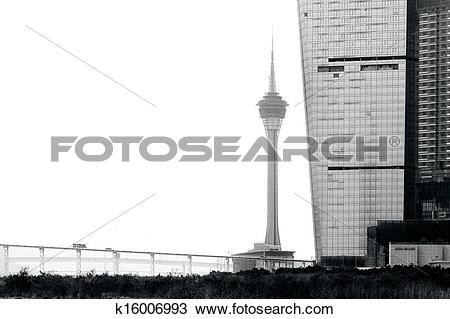 Stock Photo of Macau Tower Convention & Entertainment Centre.