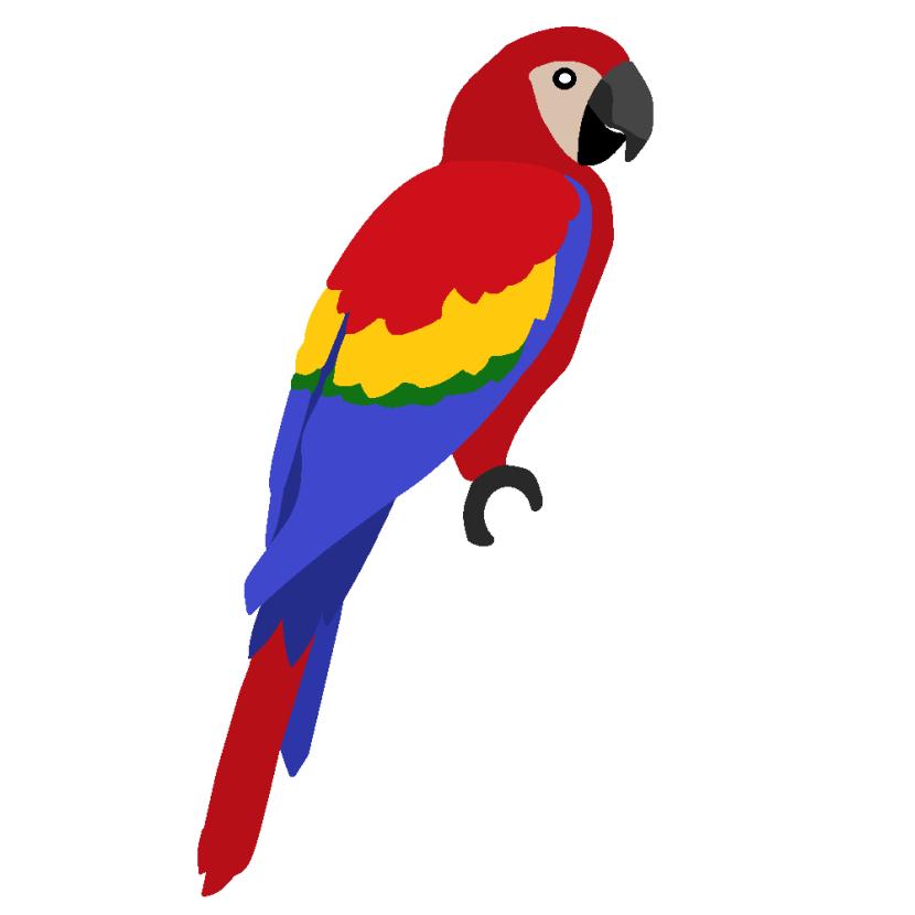 Macaw clip art.