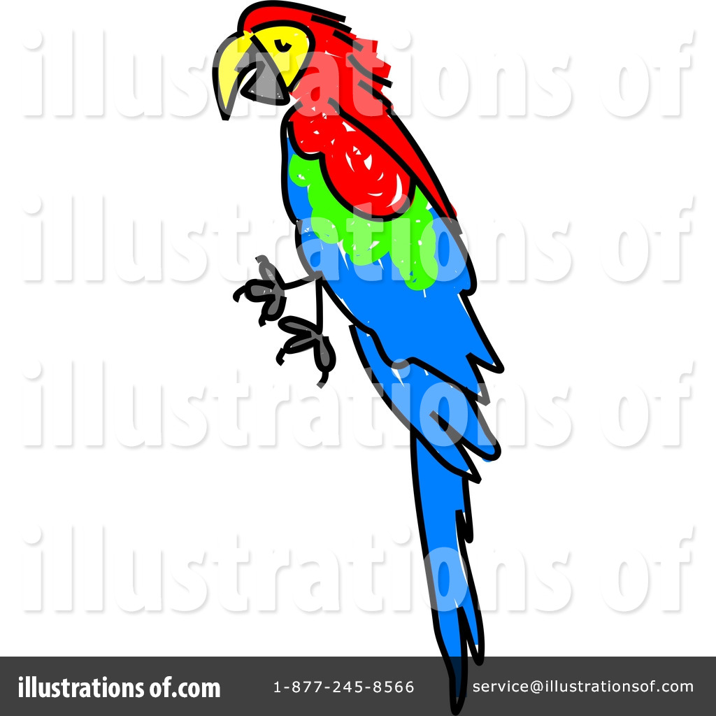 Macaw Clipart #41373.