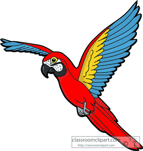 Collection of Macaw clipart.