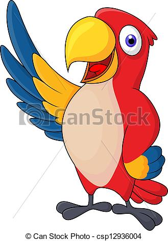 Macaw clipart.