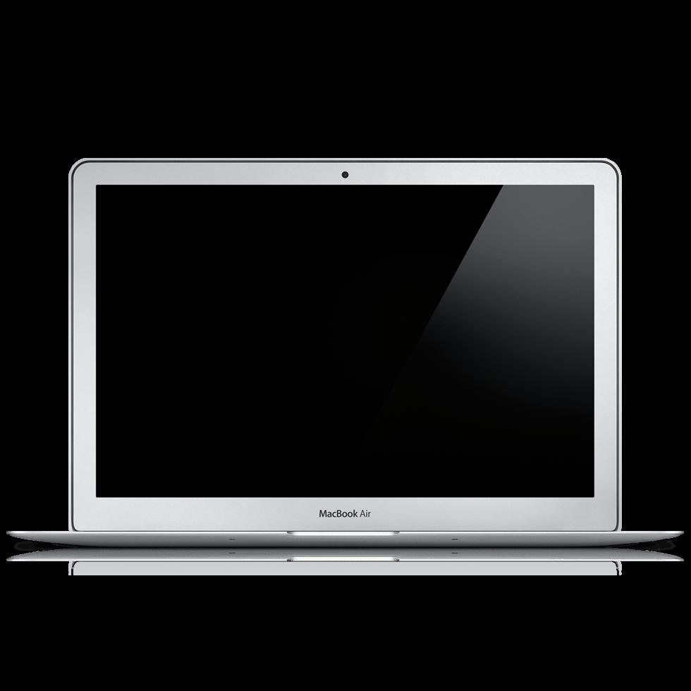 Macbook Air Laptop transparent PNG.