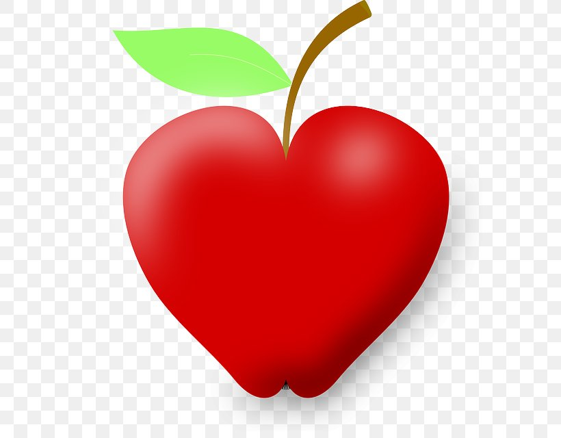 Apple Heart Health Clip Art, PNG, 611x640px, Apple, Apple.
