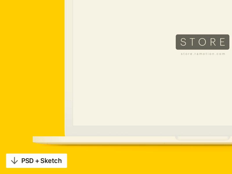 Free MacBook Mockups [PSD, Sketch].