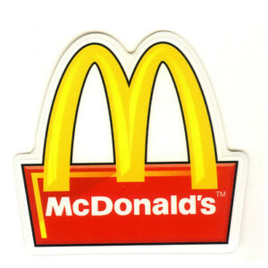 Details about #1518 Macdonald\'s Logo Sign Hamburger French Fries 3\