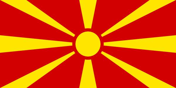 Flag Of Macedonia clip art Free Vector / 4Vector.