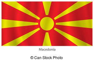 Macedonia flag Vector Clip Art Illustrations. 456 Macedonia flag.