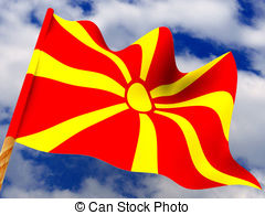 Flag macedonia Illustrations and Clip Art. 1,651 Flag macedonia.