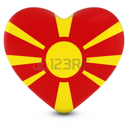 906 Macedonian Flag Stock Vector Illustration And Royalty Free.