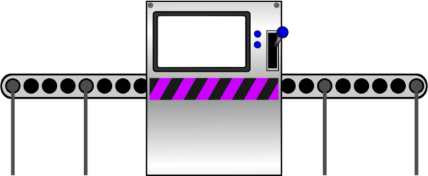 Factory Machine Clipart.