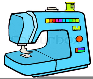 Sewing Machines Clipart.