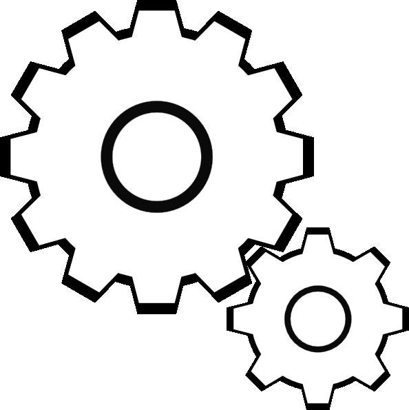 16 Gear Vector Clip Art Images.