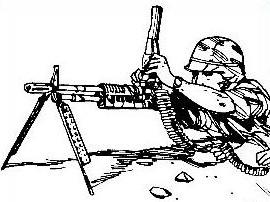 Free Machine Gun Clipart.