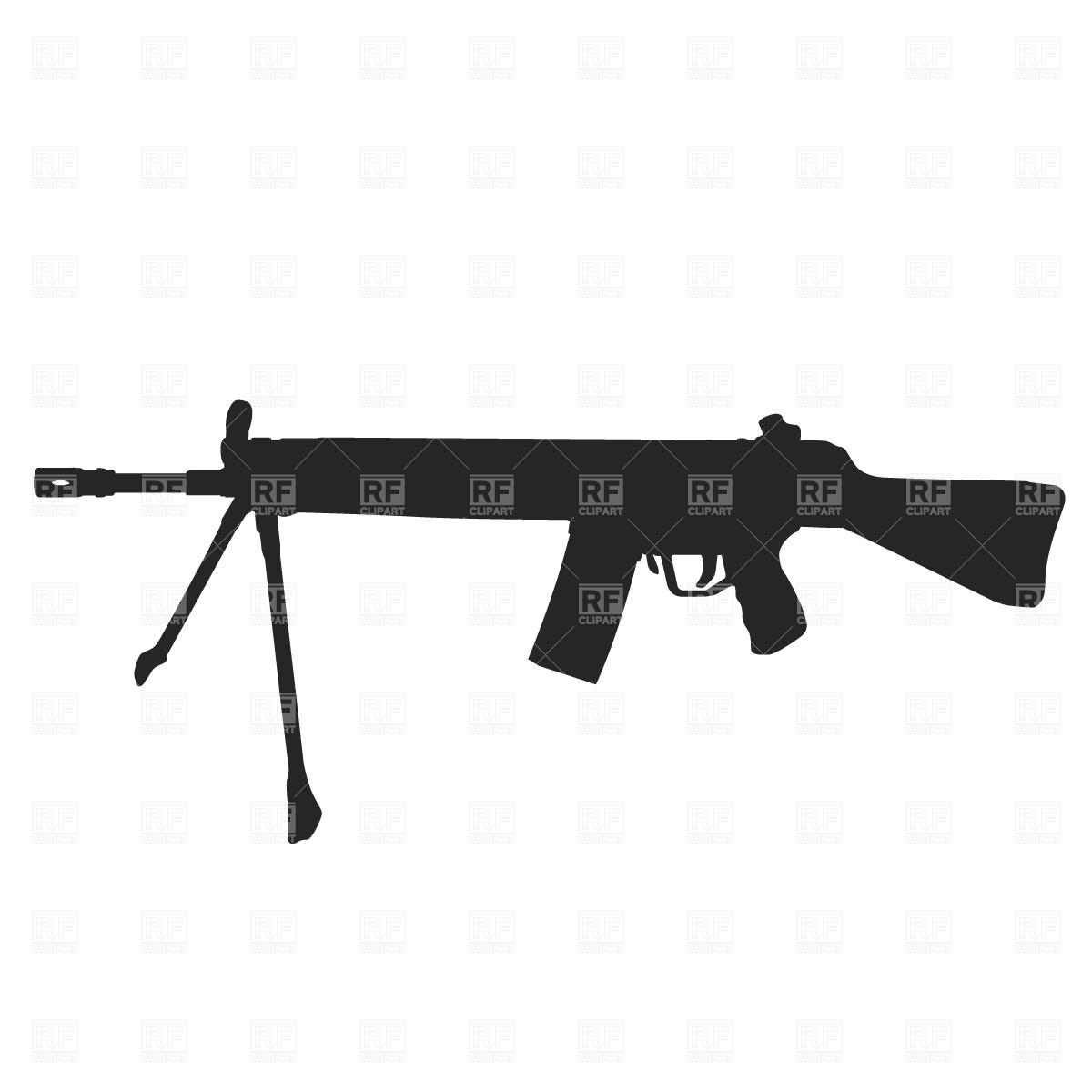 Machine Gun Free Clip art of Gun Clipart #1570 — Clipartwork.