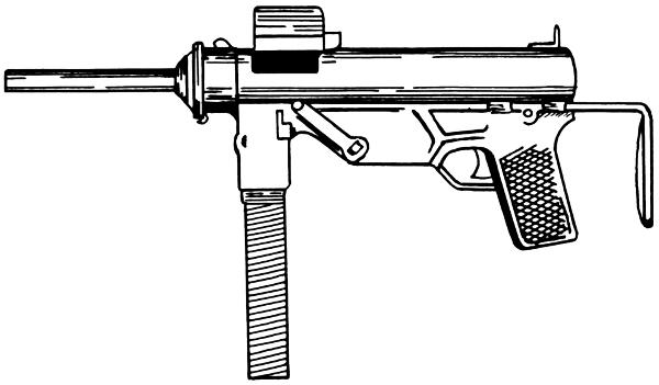 Machine Gun Clip Art Download.