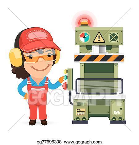 Machine operator clipart 3 » Clipart Portal.