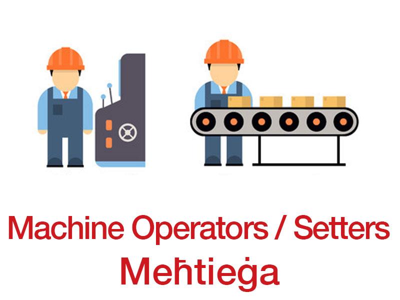 Machine Operator for Kuwait.