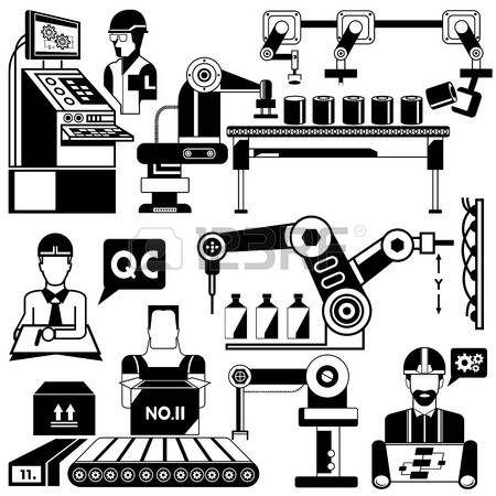 1,733 Packaging Machine Stock Vector Illustration And Royalty Free.