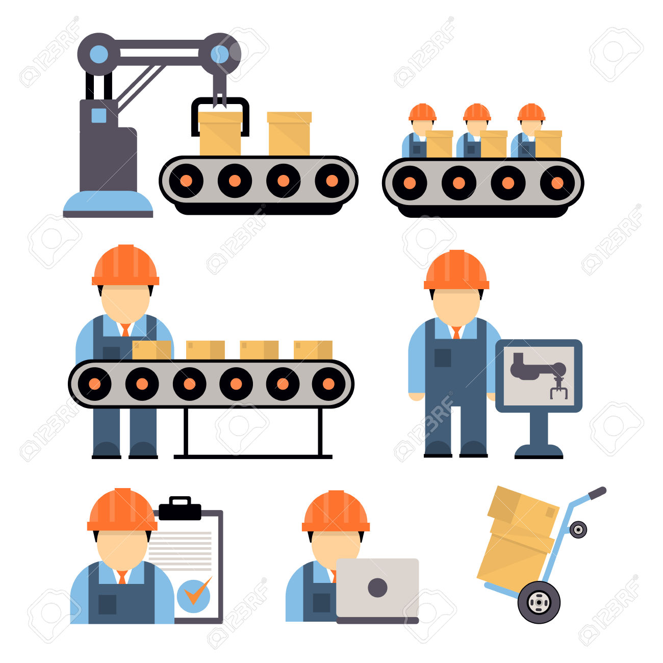 Production Process , Installation Of Engineering Equipment Of.
