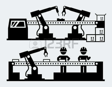 9,578 Production Machine Stock Vector Illustration And Royalty.