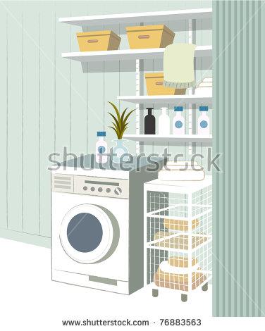 Washing Machine Room Stock Vectors & Vector Clip Art.