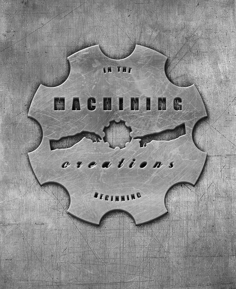 Machining Creations Machine Shop Business Logo/Brand.