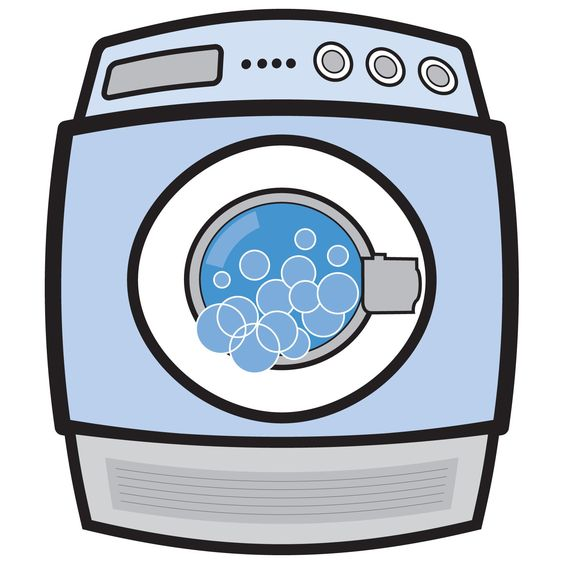 Showing post & media for Cartoon washing machine and drying.