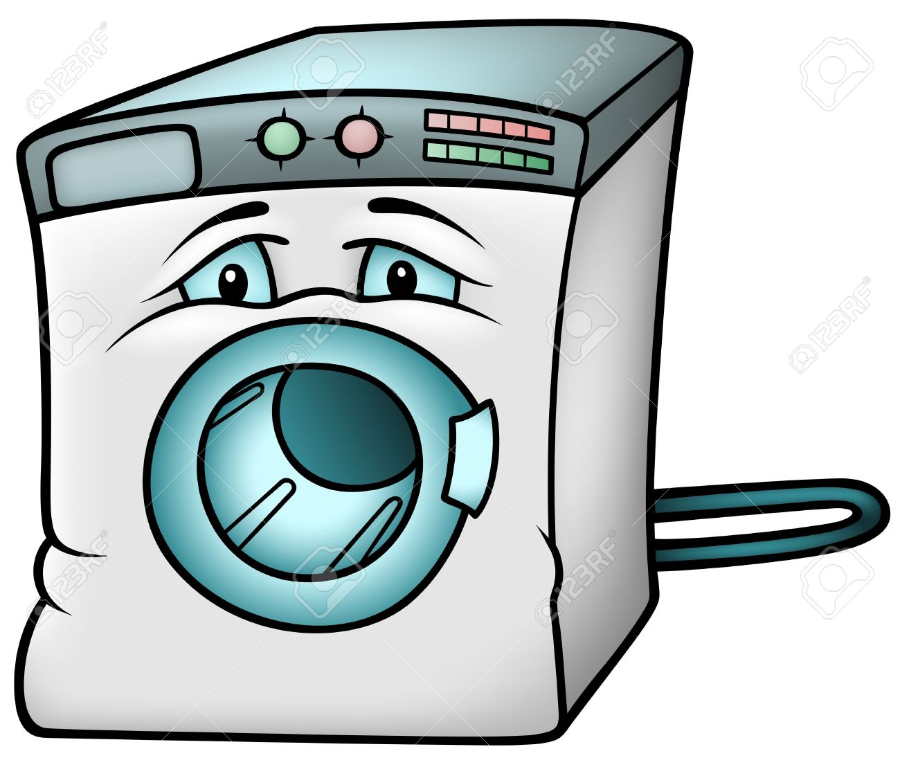 Clothes Dryer Clip Art ~ Washing machine clipart clipground