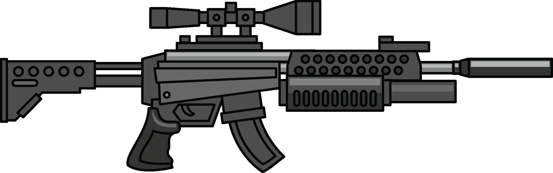Machine Gun Clip Art.