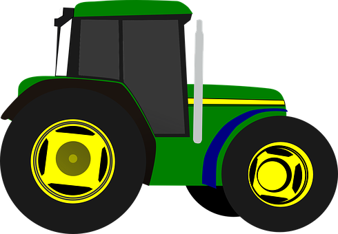 Tractor Farm Equipment Vehicle Agriculture.
