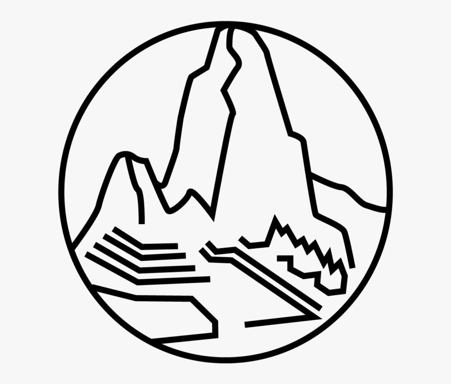 Machu Picchu Line Drawing , Free Transparent Clipart.