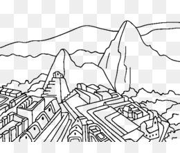 Machu Picchu PNG.
