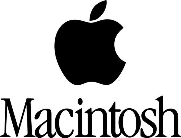 Macintosh logo Free vector in Adobe Illustrator ai ( .ai.
