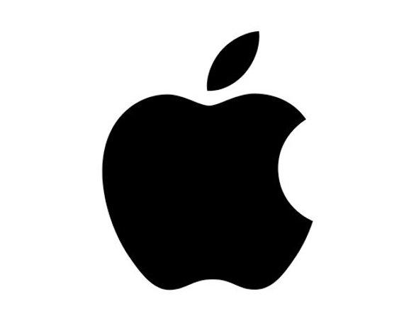 Apple Macintosh Logo Book folding pattern and FREE Tutorial.