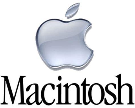 Apple macintosh Logos.