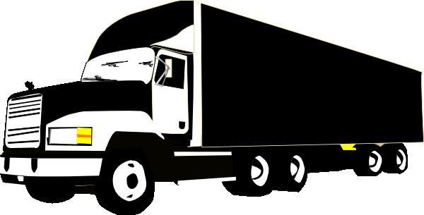 Mack Truck Vector Clipart.