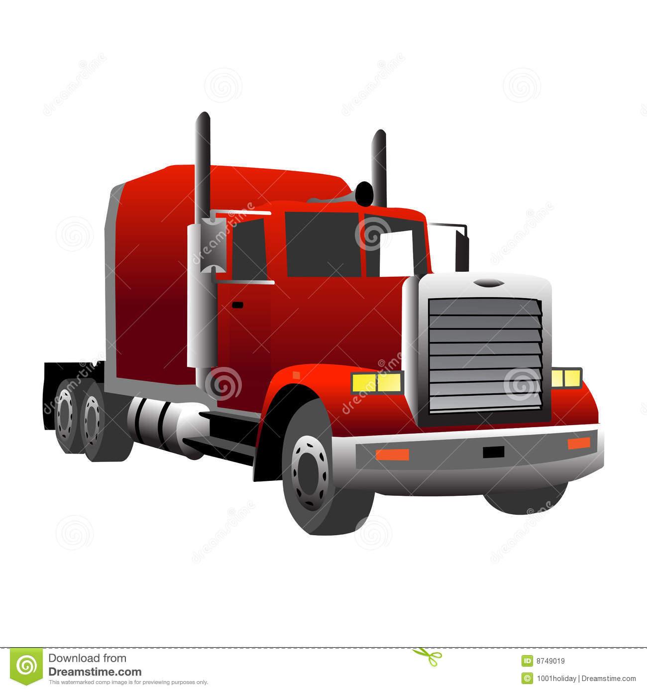 Mack Dump Truck Clipart.