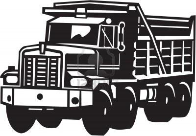 Mack truck clipart #4