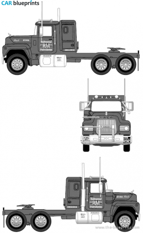 Mack Truck Clipart Clipground
