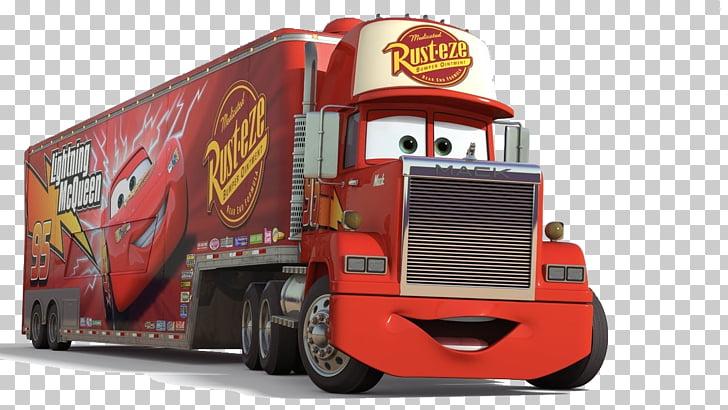Mack Trucks Lightning McQueen Car Mater, car PNG clipart.