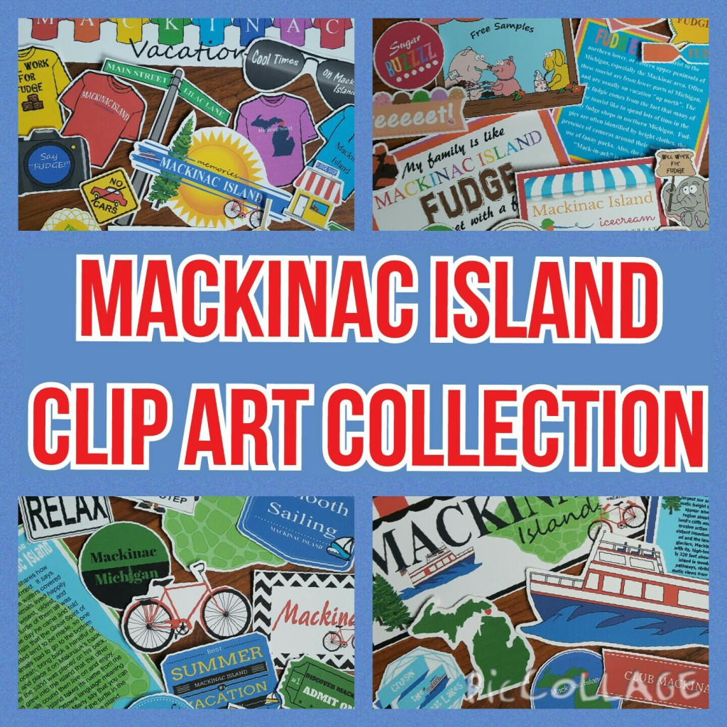 MACKINAC ISLAND CLIP ART COLLECTION & PROJECT SHOWCASE.