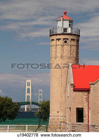 Pictures of Mackinaw City, MI, Michigan, Lake Michigan, Lake Huron.
